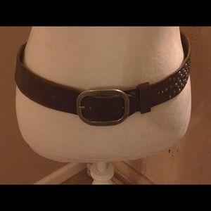Abercrombie leather belt (medium)38 inches
